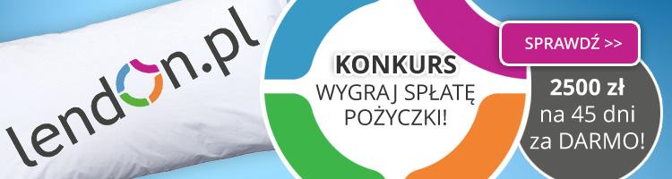 Konkurs LendOn.pl