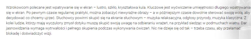 screen magicznej recepty z przepowiadamy.pl