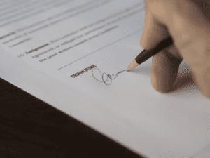 pożyczki prywatne podpisanie dokumentu