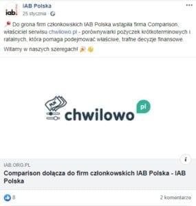 IAB Polska screen