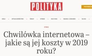 Tygodnik Polityka screen