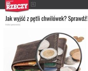 Tygodnik Do Rzeczy.pl screen