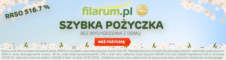 baner reklamowy Filarum